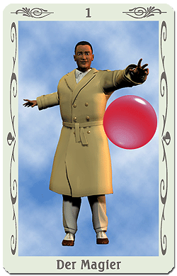 tarot magier