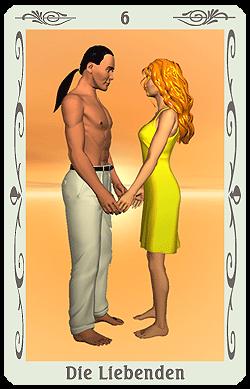tarot die liebenden