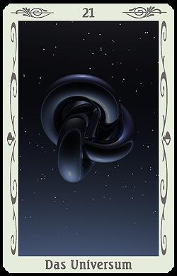 tarotkarte universum